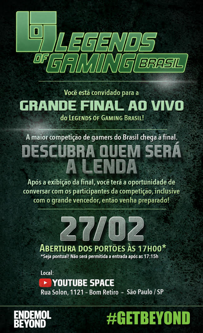 Legends Of Gaming Brasil